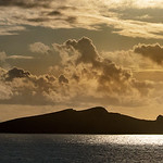 22. September 2019 - 18:00 - Like a Geological Guillver, Inishtooskert sits off west Kerry coast as part of the Blasket Islands.    The island is often known as An Fear Marbh (the dead man in Irish) or the sleeping giant due to its appearance when seen from the east.  H