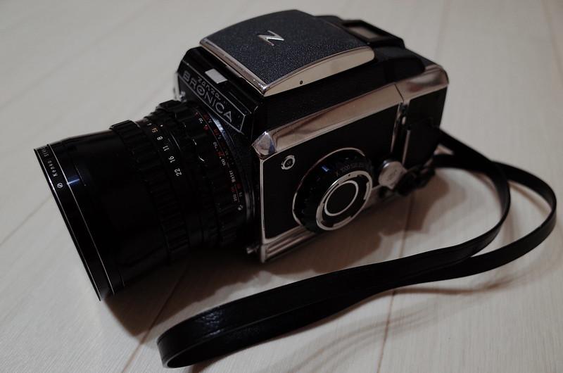 Zenza BRONICA S2+Nikkor O 50mm f2