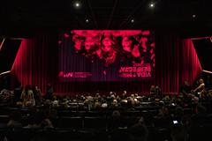 dt., 15/10/2019 - 19:33 - Barcelona 15.10.2019 L'Alcaldessa assisteix a l'estrena de la nova sèrie de Leticia Dolera, Vida Perfecta.