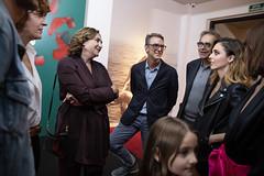 dt., 15/10/2019 - 18:49 - Barcelona 15.10.2019 L'Alcaldessa assisteix a l'estrena de la nova sèrie de Leticia Dolera, Vida Perfecta.