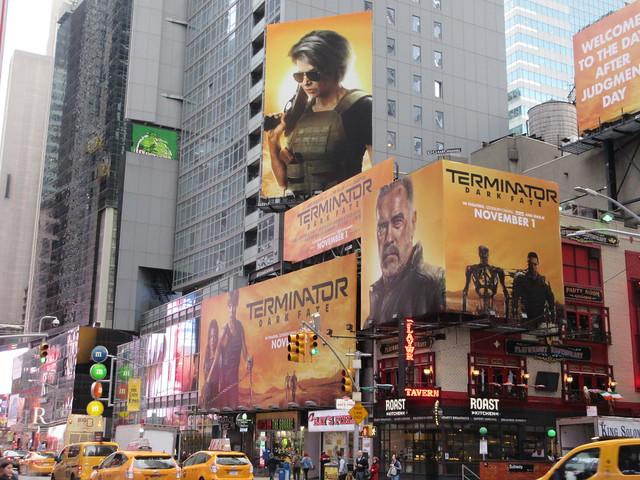 2019 Terminator Dark Fate AD Billboard movie poster 5596