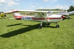 G-FINA Reims-Cessna F150L [0826] Popham 080614