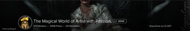 The Magical World of Artist with Passion. - Group Cover.