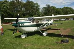 G-BCTK Reims-Cessna FR172J [0546] Popham 080614