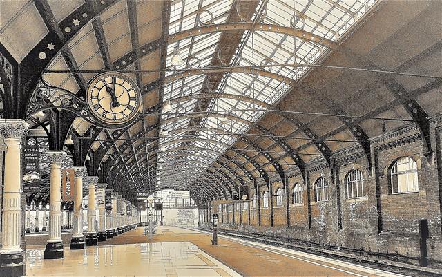 Darlington Railway Station - Zeke Filter
