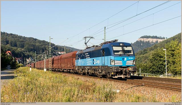 ČD Cargo 383 008-0 @ Königstein (Sächsische Schweiz)