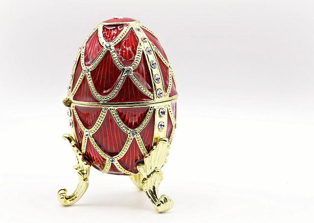 Faberge Egg in High Key