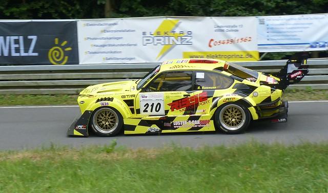 210 Opel Kadett GT-R V8 yellow l