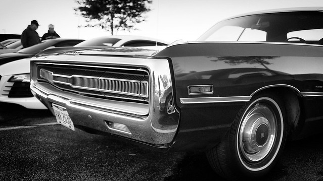 1971 Chrysler 300 at Cars and Coffee, Austin Landing