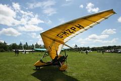 G-MZHP Solar Wings Pegasus [7353] Popham 080614