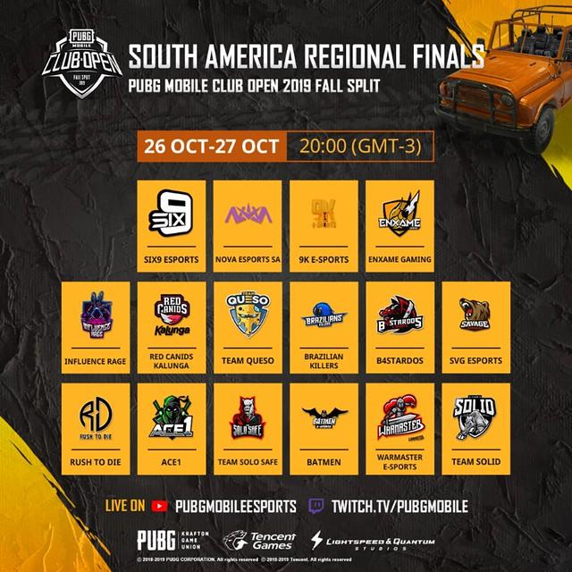 SA Regional Finals Banner