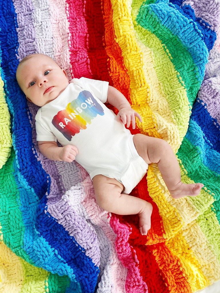 My little rainbow baby
