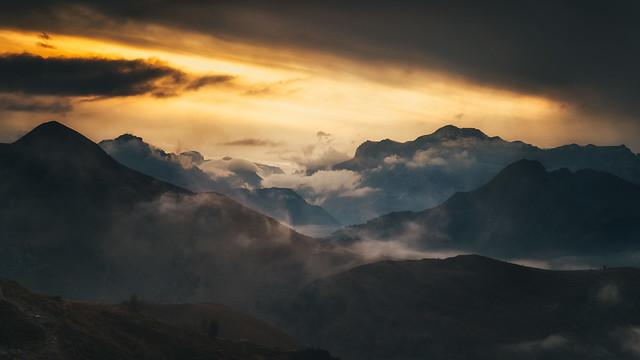 Dolomites Sunset II