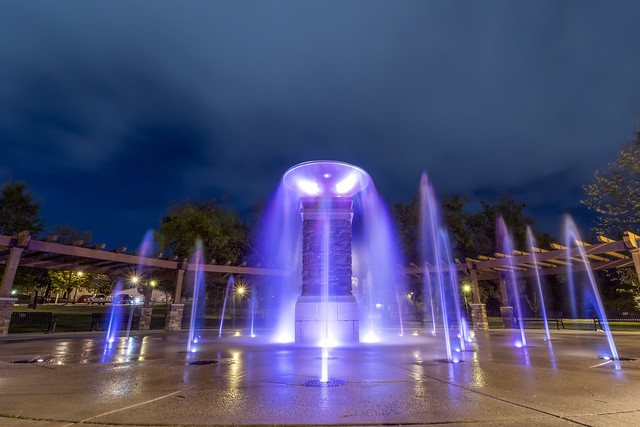 Fountain, Dogwood Park, Cookeville, Putnam County, Tennessee