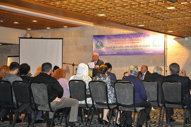 Israel-2015-01-20 Jerusalem Peace Forum Hosts Azerbaijan