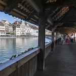 Luzern the bridge