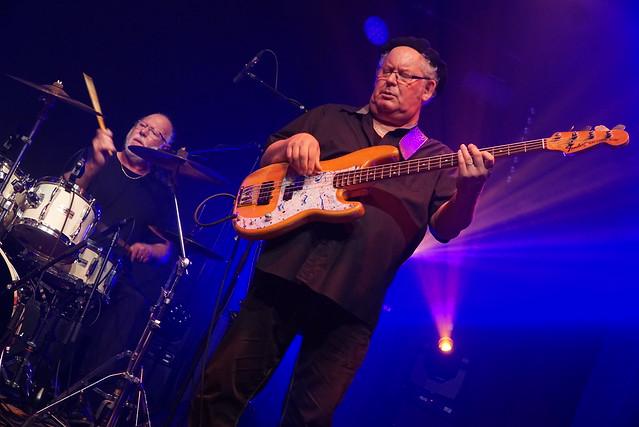 Drum : Pierrot Bauer / Bass : Benoit Seyller (FLO BAUER BLUES PROJECT  -  blues-rock / FR)