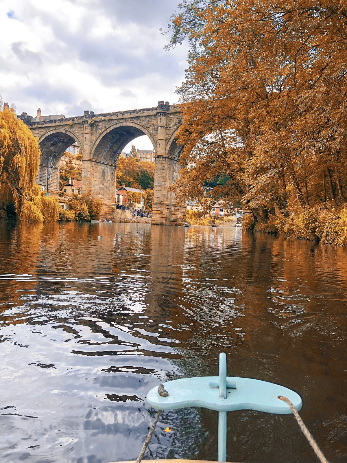 knaresborough harrogate autumn