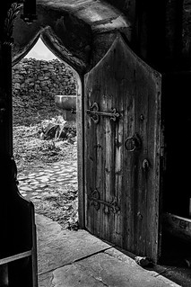 St Cuthbert's Chapel, Inner Farne, Farne Islands, Northumberland, England