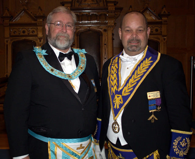 2019 10 03 Official Visit of the DDGM to Tuscan Lodge No. 551