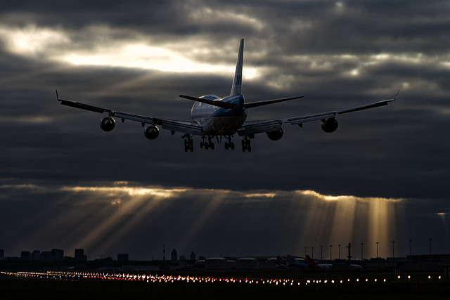 Moody landing