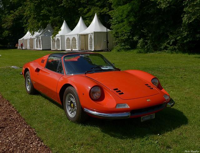 1972 Dino Ferrari 246 GTS rosso dino