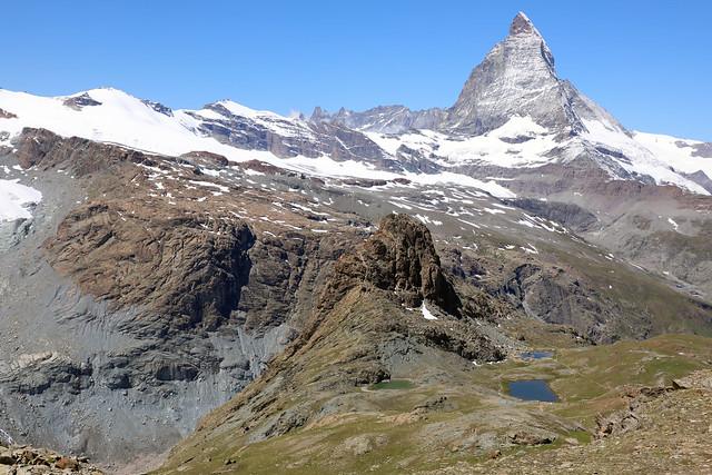 Matterhorn , Riffelberg, Riffelsee