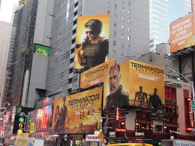 2019 Terminator Dark Fate AD Billboard movie poster 5593