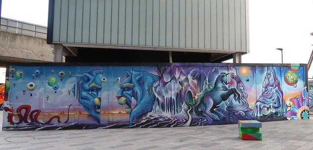 Shoreditch Street Art.