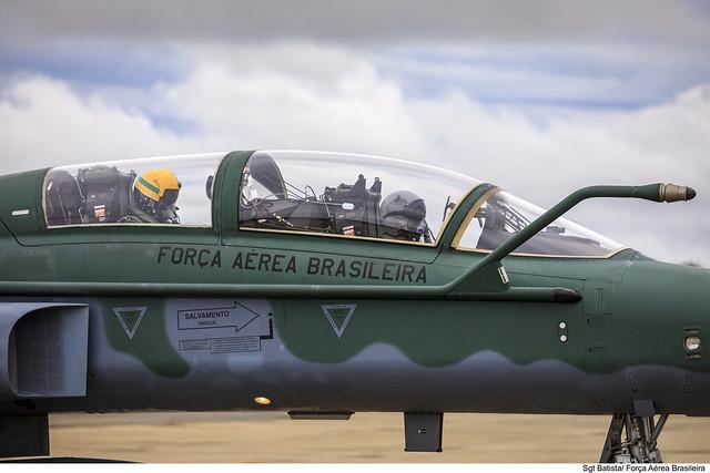 Aviadores da Força Aérea Brasileira.