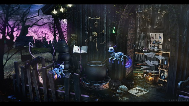 Witch's lair