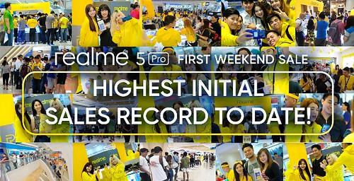 Realme 5 Pro Offline Sales Success