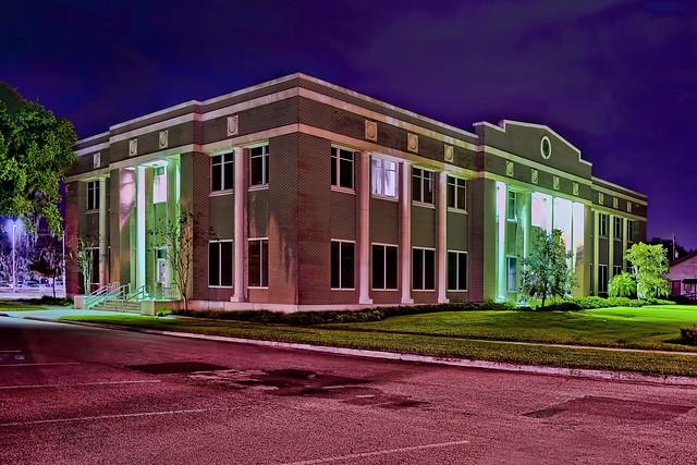 Desoto County Administrative building, 201 E Oak Street, Arcadia Florida, USA / Built: 1995