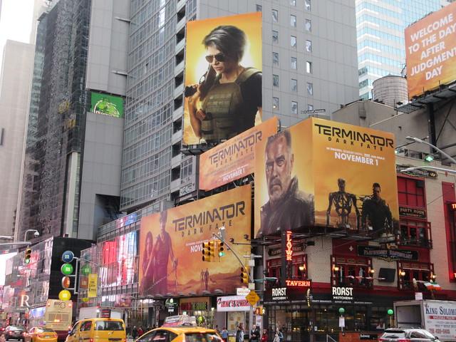 2019 Terminator Dark Fate AD Billboard movie poster 5595
