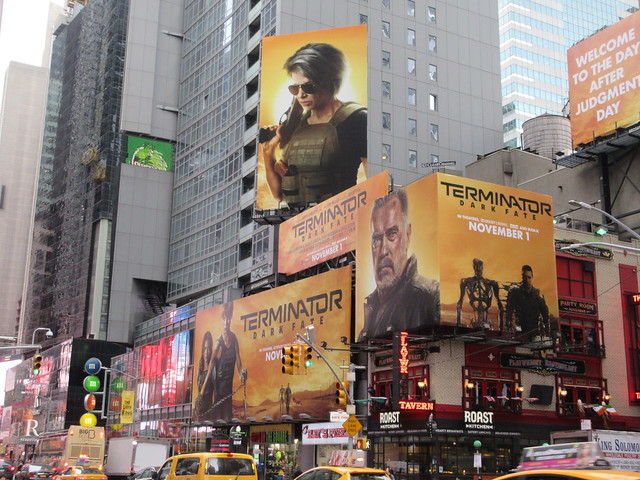 2019 Terminator Dark Fate AD Billboard movie poster 5594