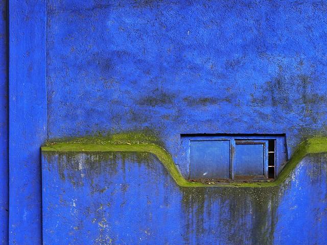 Pared.  Wall.  Cuernavaca, México.