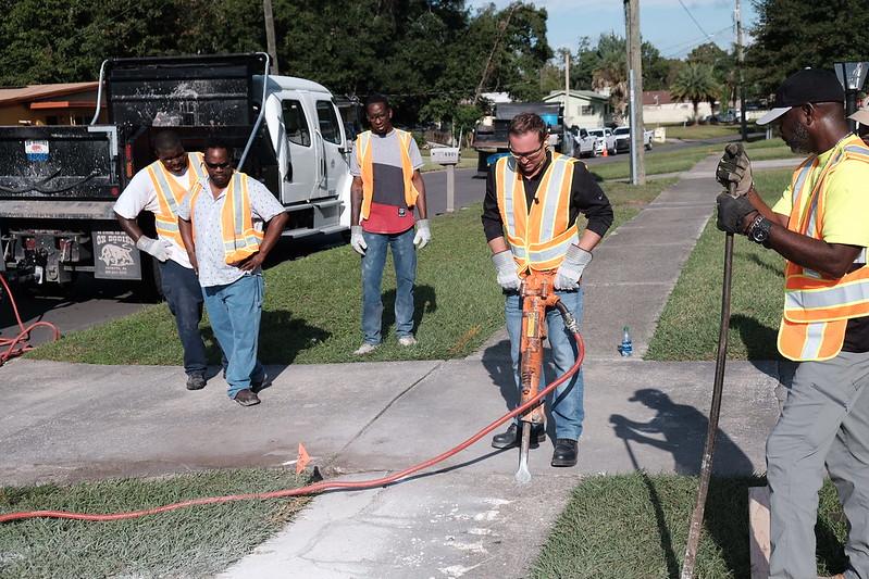 Mayor's Public Works Work Day