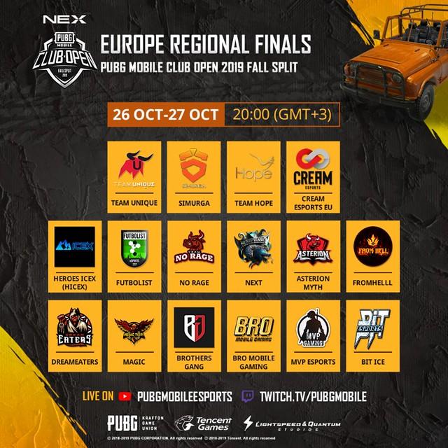 EU Regional Finals Banner