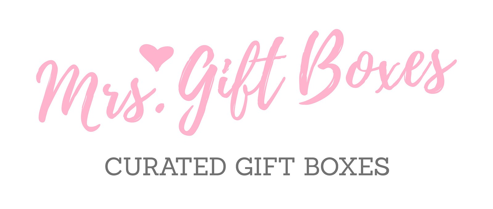 Mrs. Gift Boxes Logo