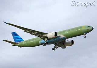 F-WWYC Airbus A330 Neo Garuda