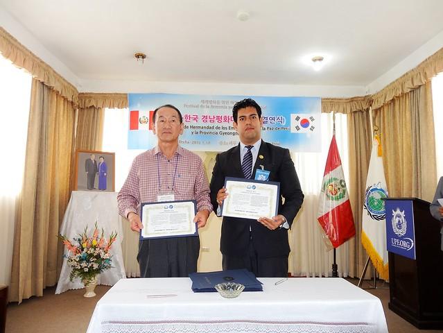 Peru-2015-01-17-Brotherhood Meeting with Korean AfP