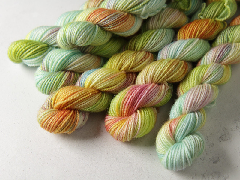 Yarn Advent Calendar day 2: Lily Pond
