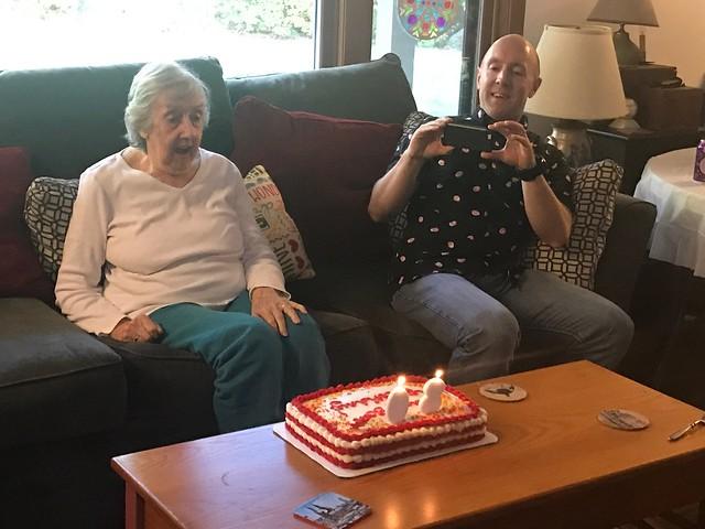 Mom 80th