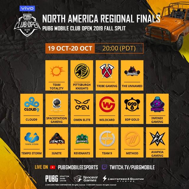 NA Regional Finals Banner
