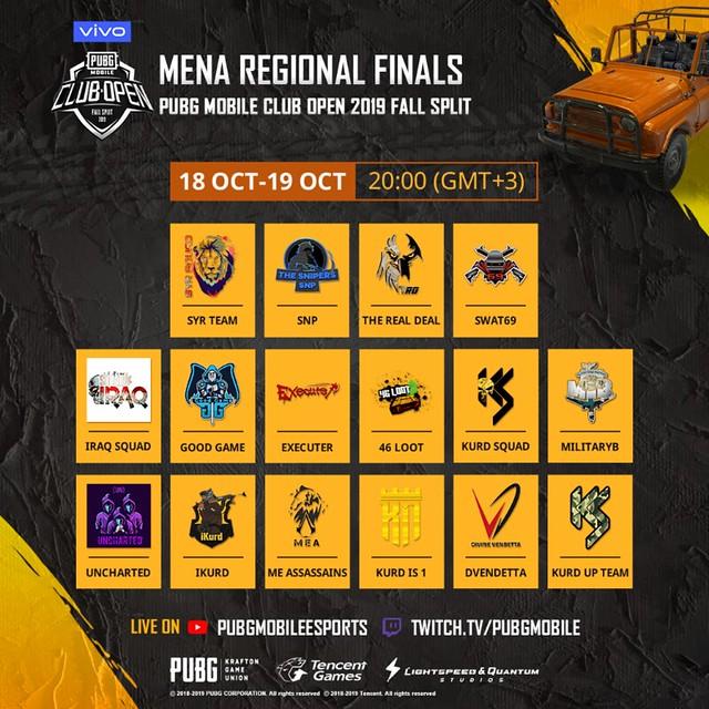 MENA Regional Finals Banner