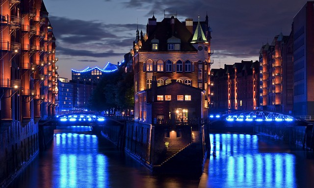 Hamburg Blue Port 2019; Wasserschloss