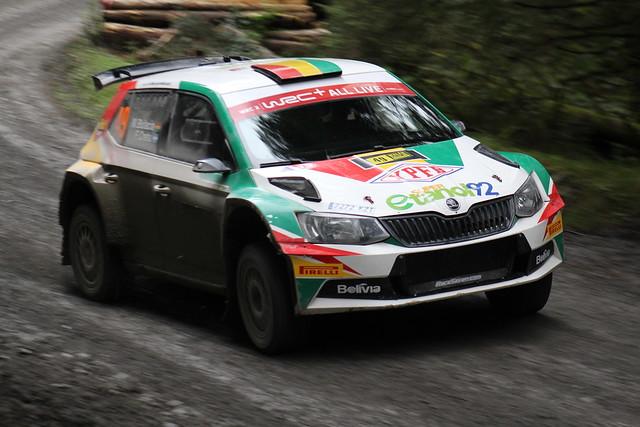 Marco Bulacia Wilkinson & Fabian Cretu | VIALCO Racing | Škoda Fabia R5
