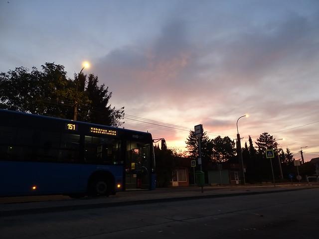 Sunrise in Csepel