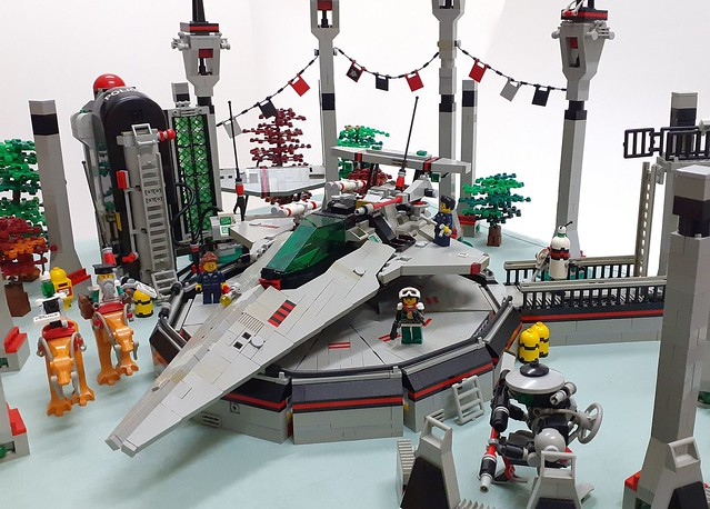 Space Police II Outpost