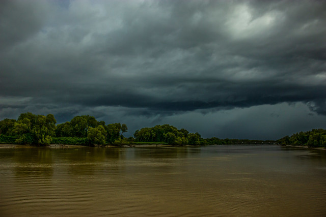 Stormclouds over Adelaide River